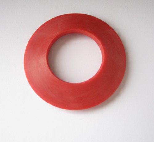 10x Dichtungsring/Gummidichtung für 2 Liter Siphons/ Biernestor - rot