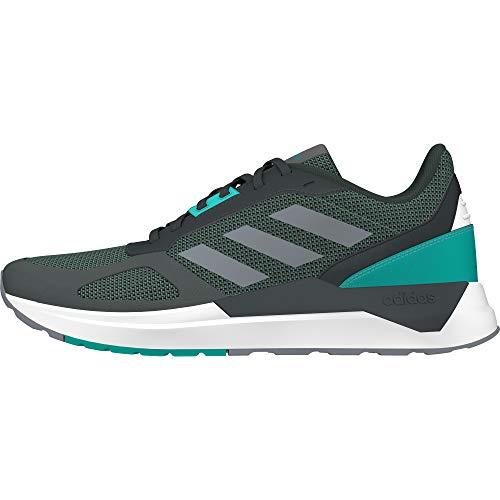 adidas RUN80S, Zapatillas de Running para Hombre, Gris (Gricin/Gris/Agalre 0), 49 1/3 EU