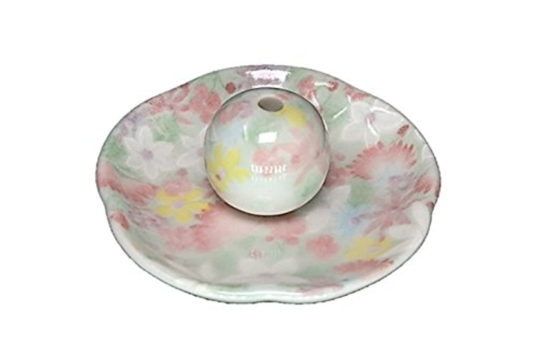 年待って頼む華苑 花形香皿 お香立て 日本製 製造 直売品
