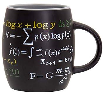 Decodyne Math Mug 15 oz Coffee Mug Featuring Famous Mathematical Formulas