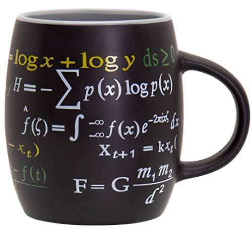Decodyne Kaffeetasse mit mathematischen Formeln, 425 ml