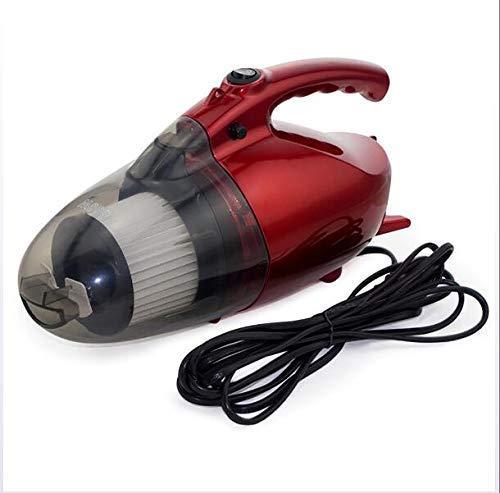 Mini Aspiradora Portátil Multifunción 800W Aspiradora Portátil de Uso Doble para Coche Doméstico Rojo