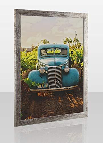 1a Bilderrahmen Montecarlo Posterrahmen Puzzlerahmen Shabby Chic Treibholz Optik Genau Passend Für Puzzle Poster Kunstduck 1 Mm Klares Kunstglas Vintage Weiß