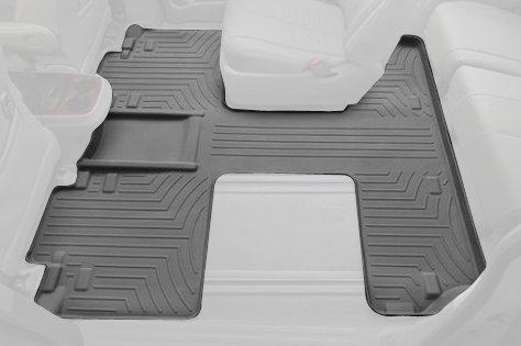 Rear FloorLiner for Select Toyota Sienna Models (Gray) - WeatherTech 463004