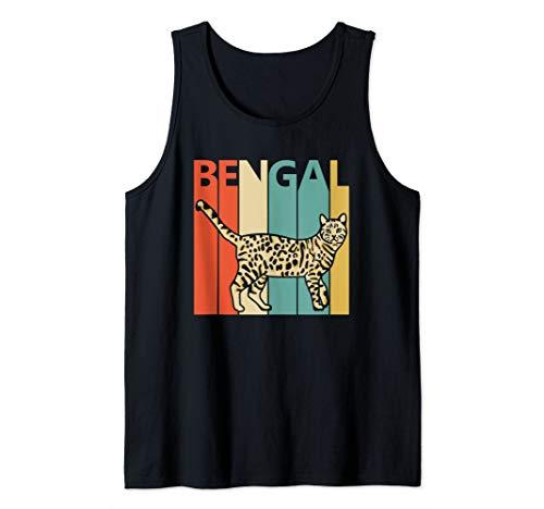 Vintage Bengal Cat Tank Top