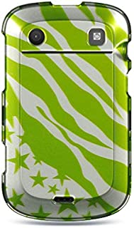 Insten Rubberized Hard Snap-in Case Cover Compatible with BlackBerry Bold Touch 9900/9930, Green/White