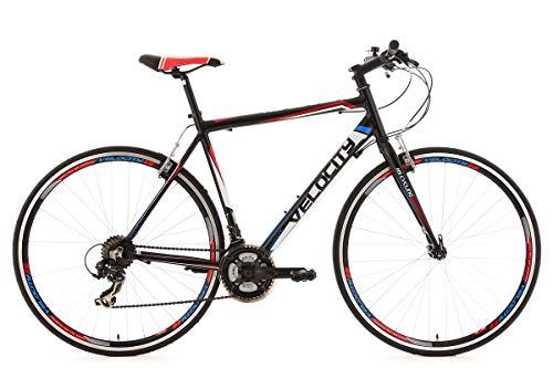 """KS Cycling Fitnessbike Alu-Rahmen 28"""" Velocity 21-Gänge schwarz RH 53 cm"""