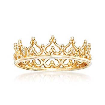 Best gold crown ring Reviews