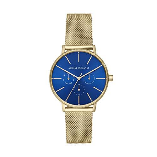 Armani Exchange dames analoog kwarts horloge met roestvrij stalen armband AX5554