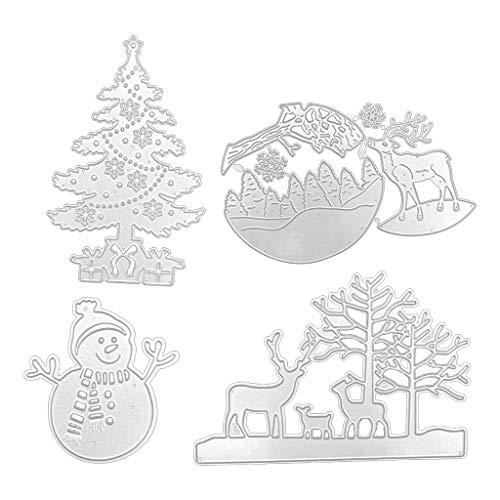 llwei258 Kerst snijden Dies Metalen Stencils Scrapbooking Tool DIY Craft Koolstofstaal Embossing Sjabloon voor Papieren Kaart Maken