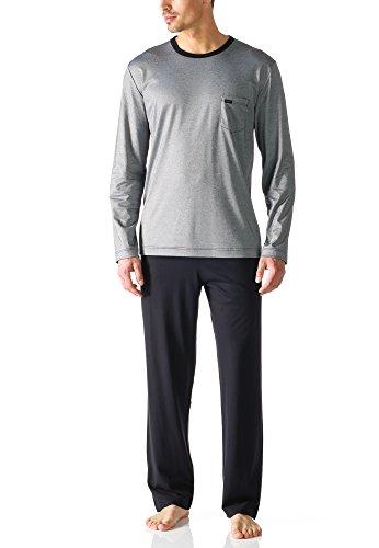 Mey Herren-Schlafanzug Interlock-Jersey dunkelblau Größe 56