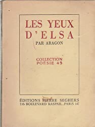 Les yeux d\'elsa. collection poésie 45