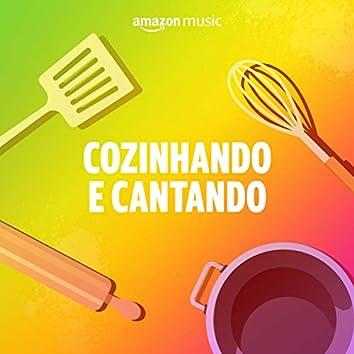 Cozinhando e cantando