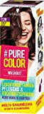 Pure Color Washout 7.28 - Tinte para cabello (nivel 1, 60 ml), color marrón fresa
