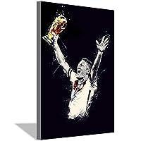 フットボール選手バスティアンシュヴァインシュタイガーキャンバス絵画アートポスターキャンバス壁アート絵画寝室リビングルームオフィス家の装飾ポスター40x60cm(16x24inch)フレームなし