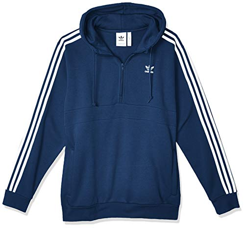 adidas Herren Sweatshirt 3-Stripes HZ, Night Marine, XS, FM3762