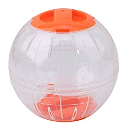 Ogquaton Runner ball Hamster and mouse Small animals Pet supplies Toys Plastic Pet play out of movement elimination toys Popular diameter 12 cm durable