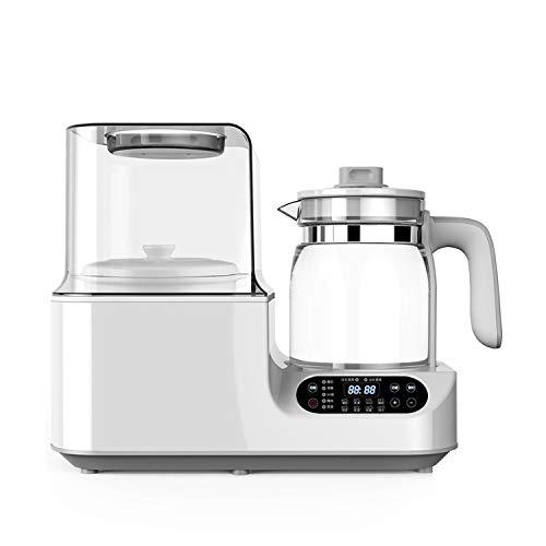AYDQC Temperatura constante botella de leche del bebé mezclador de agua caliente automático de leche caliente Flushing leche Máquina Calentador de dos-en-uno