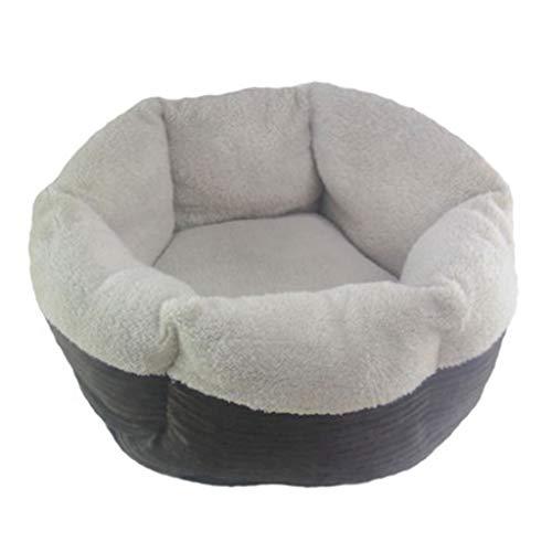 BEAAE-net hondenbed grot zacht en comfortabel hondje zwinger warme winter kleine huisdier nest halfgesloten kattenhuis
