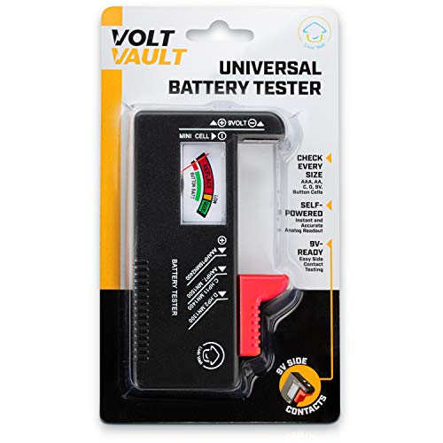 Read About Battery Tester Checker – Battery Tester Monitor for AAA, AA, C, D, 9V and Small Batteri...
