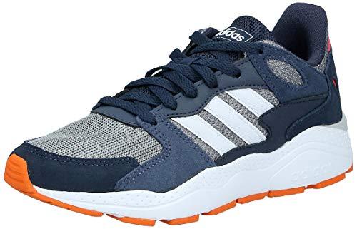 adidas Performance Crazychaos Sneaker Kinder grau/blau, 4.5 UK - 37 1/3 EU - 5 US