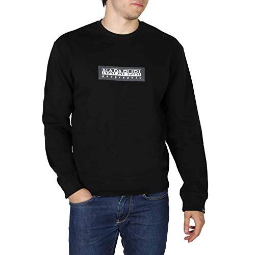 Napapijri Sommer Sweater Crewneck Box schwarz L