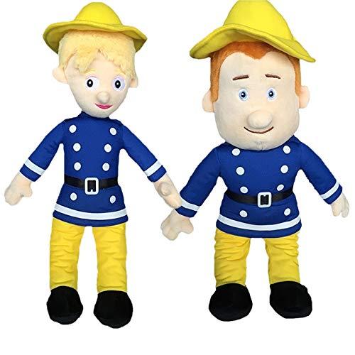 letaowl Peluches Doudou 40 Cm Pompier Sam en Peluche Jouet Angleterre Bande Dessinée Film Poupée Enfants Enfant Cadeaux d'anniversaire Nouvelle Arrivée