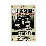 Vintage Rolling Stones Rock Roll Konzert-Gig Band Werbung