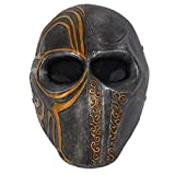 Hewufo Deathstroke Horror Mask Field Airsoft Paintball Protective Mask Halloween Masquerade Party Movie Character Cosplay Props