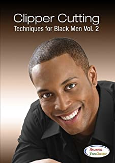Clipper Cutting Techniques for Black Men Vol. 2 Video - Learn How To Do Haircuts with Professional Clippers in this Cosmetology DVD (1.5 hours of hair cuts) Best Haircutting Videos