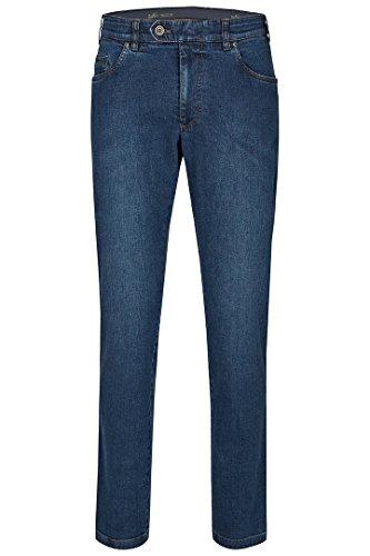 aubi: Herren Jeans Hose Stretch aus Baumwolle High Flex Modell 577 Stone Soft Used Größe 52