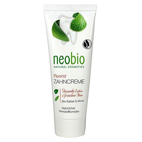 neobio Zahncreme, fluoridhaltig (75 ml)