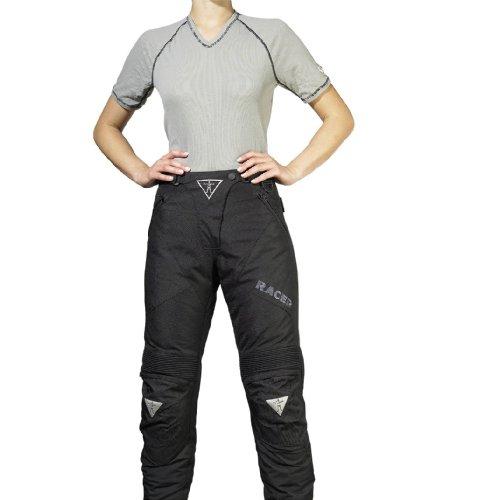 Racer Adventure PlusLadies Textilhose, Schwarz, Größe XS