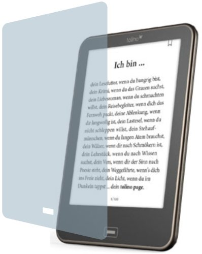 4ProTec I 2X ANTIREFLEX matt Schutzfolie für Tolino Vision 1, 2, 3 und 4 HD Premium Displayschutzfolie Bildschirmschutzfolie Display Schutz Glas Schutzhülle Displayschutz Displayfolie Folie