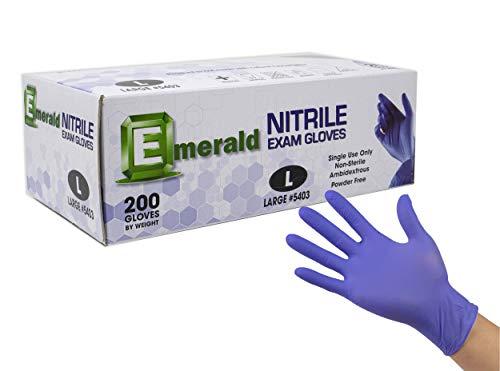 Touch 200 Nitrile Exam Glove (medium)