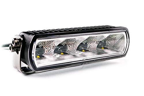 LED Fernscheinwerfer mit Zulassung ECE 20W - LIGHTPARTZ Zusatzscheinwerfer Lightbar IP68 Fernlicht Spot