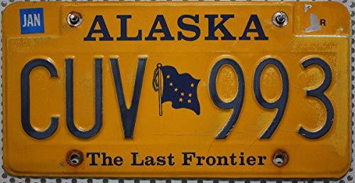 ALASKA Nummernschild USA - Kennzeichen US License Plate - Blechschild
