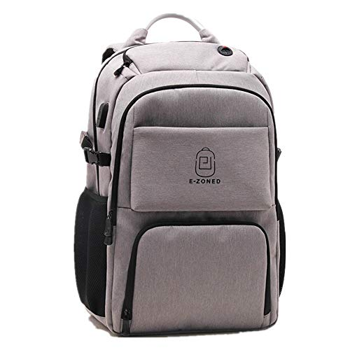Travel Backpack Hiking Rucksack Travel Laptop Backpack,Business Anti Theft Slim Durable Laptops Backpack with USB Charging Port,Lightweight College School Computer Bag for Women & Men Fits 16 Inch Lap