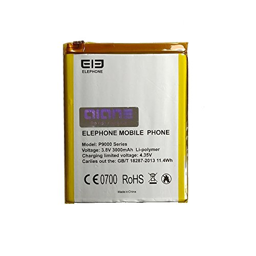 Akku für Elephone P9000, P9000 Lite - 3000 mAh