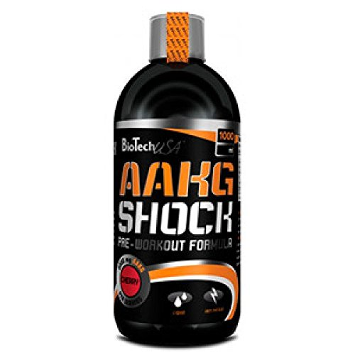 Biotech USA AAKG Shock Extreme Kirsche 1000ml