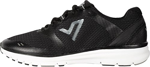 Vionic Ngage 10 - Mens Lace-Up Comfort Sneaker Black - 7