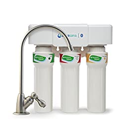 Aquasana AQ-5300+.55 3-Stage Max Flow Under Sink Water Filter 1 Instantly Transform Ordinary Tap Water Into Clean, Extraordinary Water - Removes up to 99% of 77 contaminants while leaving healthy minerals so you can drink with confidence. This system will NOT reduce Total Dissolved Solids (TDS). High Flow Rate - This system powers through a half-gallon of water every minute. No need to wait for clean water compared to traditional drip filters. Cost Efficient & Long Lasting - The most economical filter on the market at less than 10 cents per gallon filtered. Lasts for 6 months or 800 gallons before a replacement filter is needed.