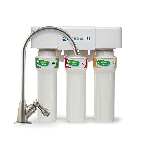 Aquasana 3-Stage Max Flow Claryum Under Sink Water Filter System - Kitchen Counter Claryum...