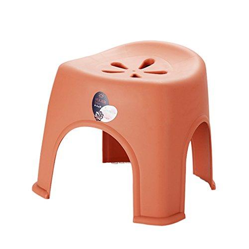 LSLS Taburete de ducha de plástico para niños, silla de ducha, para sala de estar, moda, perezoso, para reemplazar zapatos, taburete de baño, silla de ducha (color: #B, tamaño: XL)