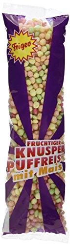 Frigeo Knusper-Puffreis – luftig-fruchtiger Knusper-Spaß, 40 x 42 g, 1-er Pack (1x 1,7 kg)