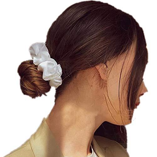 ADIASEN INS Chaud Femmes Fille Gros Chouchous en velours satin pour queue de cheval Titulaire Fort Élastique Cheveux Bandoulière Corde Accessoires 57