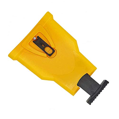 Chainsaw Sharpener, Portable Chain Saw Blade Teeth Sharpener Work Sharp Fast-Sharpening Stone Grinder Tools Suitable (Yellow)