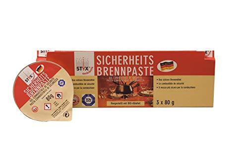 STYX Sicherheits-Brennpaste, Ethanol, Einfarbig, 4009864067033