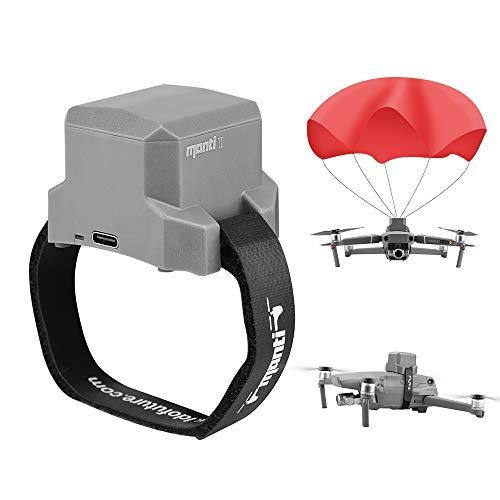 Tenglang Drones Dispositivo paracadute per DJI Mavic 2 Pro ZOOM Mavic Pro Air, accessori per l'atterraggio di sicurezza in volo