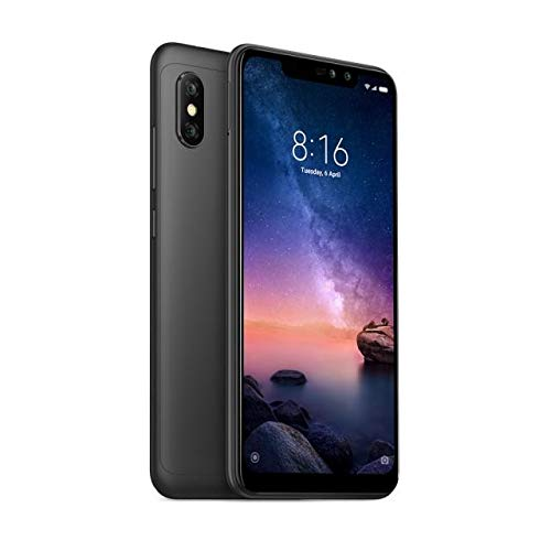 Telefono Movil Xiaomi Redmi Note 6 Pro Negro 4+64gb